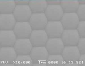 六边形排列微透镜