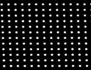 四边形微透镜焦点阵列